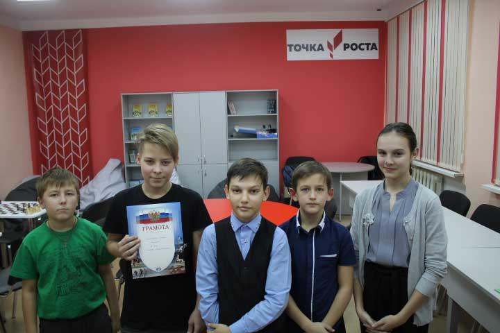 Все обучающиеся получили сертификаты за участие в турнире!