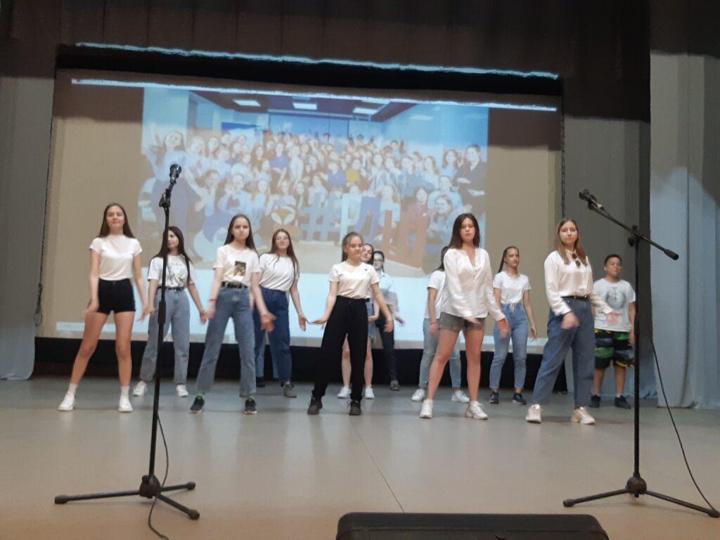 Окружной слет Российского движения школьников