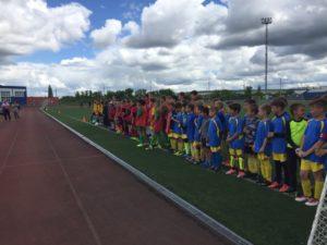 прошёл зональный этап самых массовых Всероссийских соревнований «Кожаный мяч» среди детских футбольных команд.